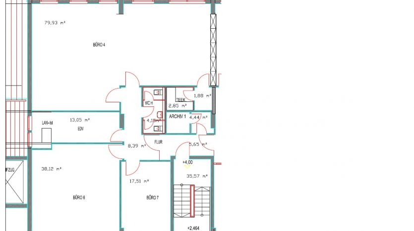 Büro 177 qm in Garching zu vermieten