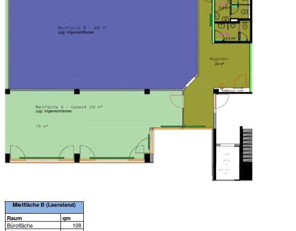 Büro 123 qm in Hallbergmoos ab 01.07.22 zu vermieten