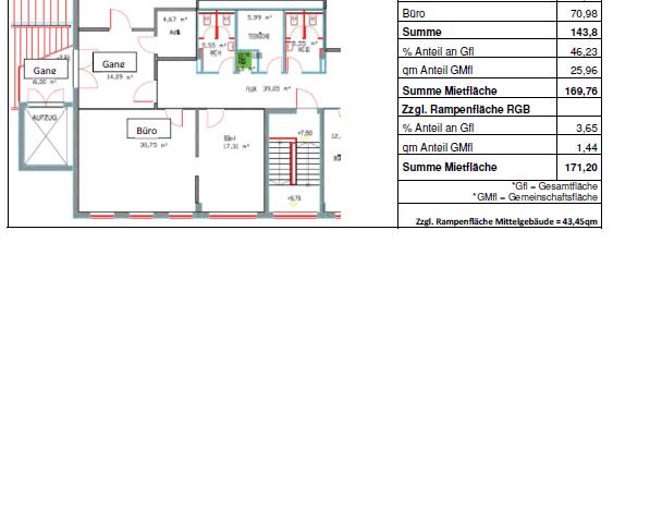 Büro / Servicefläche 171qm in Garching zu vermieten