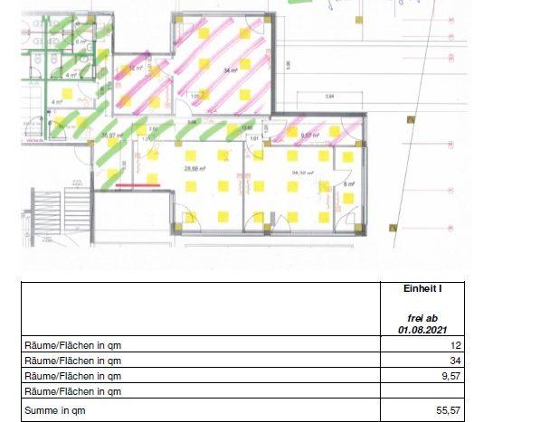 Büro 75qm in Hallbergmoos ab 01.08.2021 zu vermieten