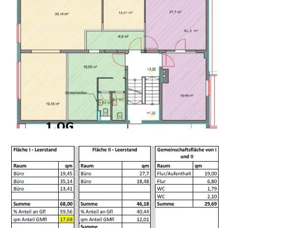 Büro 145 qm in Garching ab Q3/2021 nach Sanierung zu vermieten